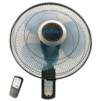 Hurricane Super 8 Oscillating Digital Wall Mount Fan 16 in Plt