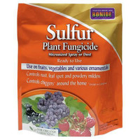 Bonide Sulfur Plant Fungicide Micronized Spray or Dust RTU 4 lb Cs