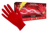 Red Lightning Powder Free Nitrile Gloves Large Box