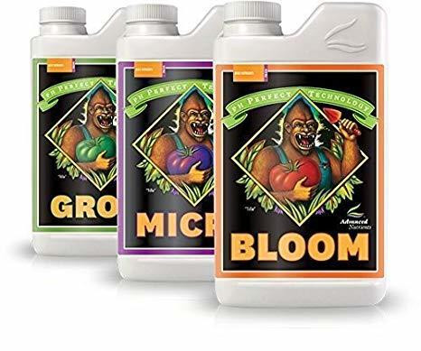 Advanced Nutrients ph Micro, Grow, & Bloom Package 500ml