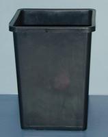 Grodan Rose Bucket Black, 10x7.67x 7.67 AD307058