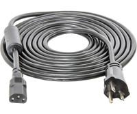 Hydrofarm PH/DE 240V-15 Power Cord w/Ferrite Ring 30/cs BACD13