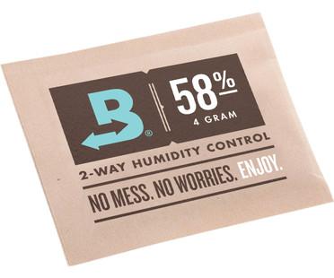 Boveda Boveda 58percent RH 4 GRAMS -- bulk 600 packets/case BV58004