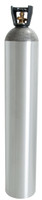 Active Air 50LB C02 CYLINDER W/ 320 VALVE and BLACK HANDLE CCO5