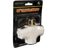 Unspecified 90 Degree Tri Tap Adapter, White CW3WAY