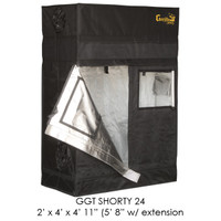 Gorilla Grow Tent 2x4 Gorilla Grow Tent SHORTY w/ 9 Extension Kit GGTSH24