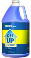 General Hydroponics pH Up gal Base, case of 4 GH1523