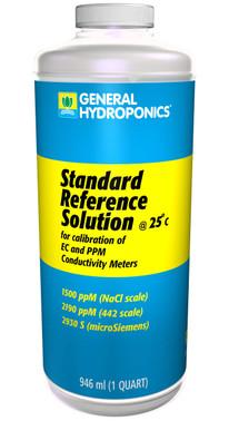 General Hydroponics 1500 ppm Calibration Solution 1 qt GH1572