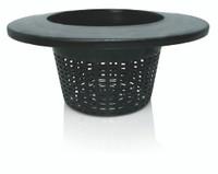 Hydrofarm 8 Wide Lip Bucket Basket Lid, case of 25 HG8RDBK