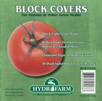 Hydrofarm 6 Rockwool Block Cover, pack of 40 HGCOV6