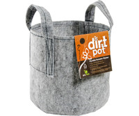 Hydrofarm Dirt Pot 5 Gal w/Handle 80/cs HGDB5