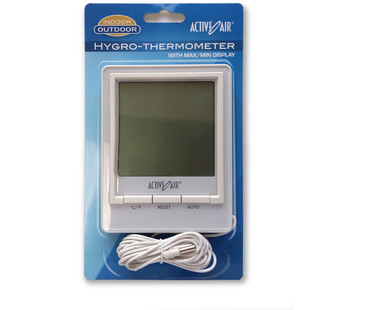 Active Air Active Air Hygro-Thermometer HGIOHTJ