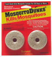 Summit Chemical Company Mosquito Dunks, 2 per Card HGMODU2