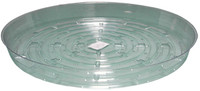 Hydrofarm Clear 12 inch Saucer, pack of 10 HGS12