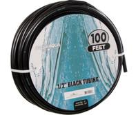 Active Aqua 1/2 ID Black Tubing 100 HGTB50