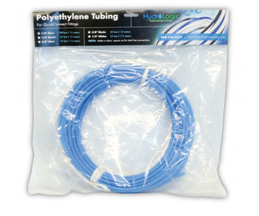 HydroLogic 1/4 Blue Tubing, 50 feet HL25032