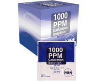 HM Digital Meters 20 ml pack of 1000 ppm NaCl Calibration Solution HMDCP1000