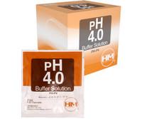 HM Digital Meters 20 ml pack of pH 4 Buffer solution 20/cs HMDPHP4