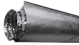 Hydro Innovations Heat Shield for 6 Ducting - 10 Long HS6DUCT