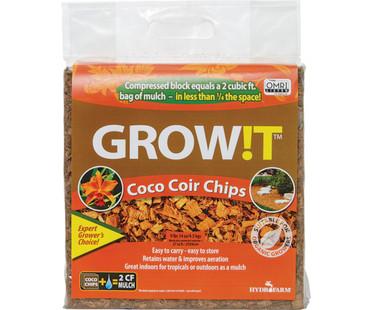 GROWT GROWT Organic Coco Coir Chips, Block JSCC2