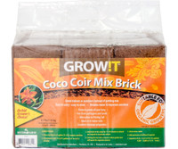 GROWT GROWT Coco Coir Mix Brick, pack of 3 JSCPB