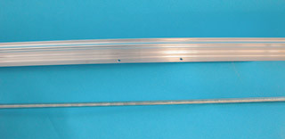 LightRail 6 Add A Lamp Slave 6 Push Rod/6 Rail LRAAL3.5