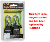 Hydrofarm 1/8 Light Riser Hanging Sys Heavy Duty 2 per 12/cs LULIFT