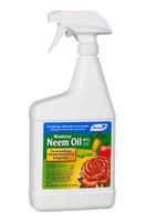 Monterey Lawn and Garden Products 70percent Neem Oil Quart RTU MBR5003