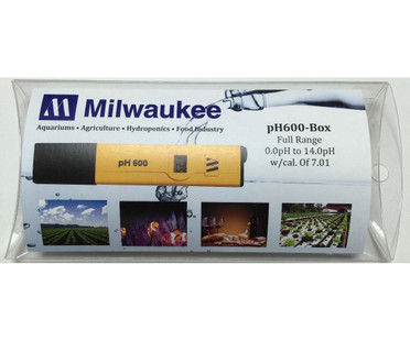 Milwaukee Instruments PH Tester w/1 Point Manual Cal MIPH600BX