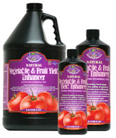 Microbe Life Hydroponics 16oz Vegetable and Fruit Yield Enhancer ML21345