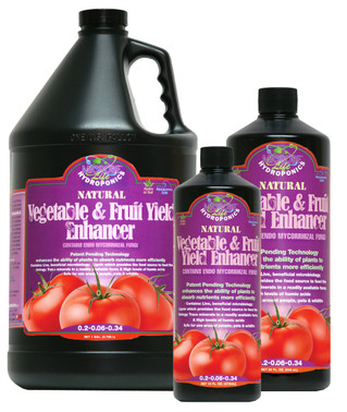 Microbe Life Hydroponics 32oz Vegetable and Fruit Yield Enhancer ML21346