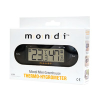 Mondi MONDI Mini Greenhouse Thermo-Hygrometer MONDIE100