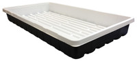 Mondi Mondi Black and White 10 x 20 Propagation Tray, No Holes MONDIG170