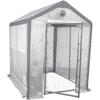 Saturday Solution 10 x 8 Secure Grow Chain Link Greenhouse MSI80810