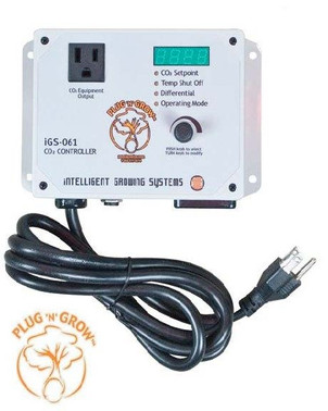 Intelligent Growing Systems Plug and Grow CO2 Smart Controller with High-Temp shut-off NBIGS061