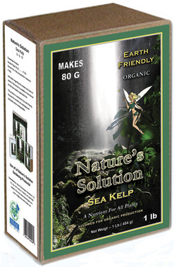 Natures Solution Organic Sea Kelp 1lb NTSKELP1