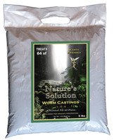 Natures Solution Organic Worm Castings, 5 Lb Bags NTWC5