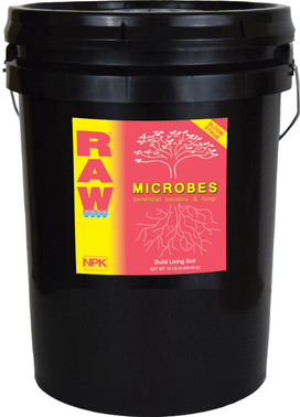 NPK Industries RAW Microbes bloom stage 25lb OG4160