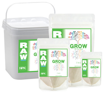 NPK Industries RAW GROW 8 oz 6/cs OG4520