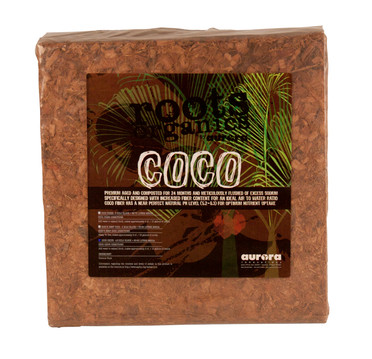Roots Organics Coco Chips Compressed 12x12 ROCCB
