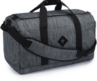 Revelry Supply Around-Towner - Stripe Black, MD Duffle RV20050