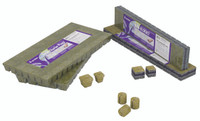 Grodan AO 36/40 6/15 Cubes, 1.5x1.5, 30 sheets of 98 RWAO3640