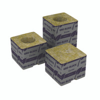 Grodan Delta 4 Block, 3x3x2.5, no hole, case of 384 RWDU4G