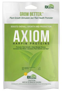Rx Green Solutions Axiom Harpin Protein 3- .5 gm pks 36/cs RXAX1005