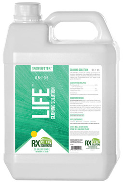 Rx Green Solutions Life Cloning Solution 2.5 gal RXLF2320
