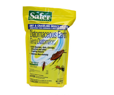Safer Diatomaceous Earth Insect Killer 4lb SF51702