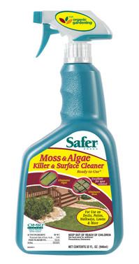 Safer Moss and Algae Killer 32oz RTU SF5325