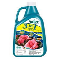 Safer Safers 3 in 1 Garden Spray 32oz Concentrate SF5462