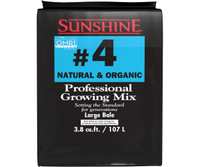 SunGro Horticulture Sunshine Natural and Organic Aggregate 3.8cf bale SUGRMIX4NO