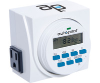 Autopilot 7 Day Dual Outlet Digital Timer TM01715D